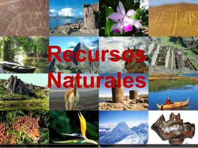 Ambiente recursos naturales