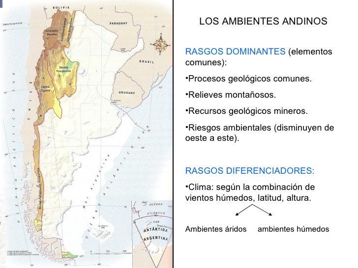 Ambientes andinos for Ambientes de argentina
