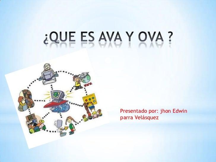 Presentado por: jhon Edwinparra Velásquez