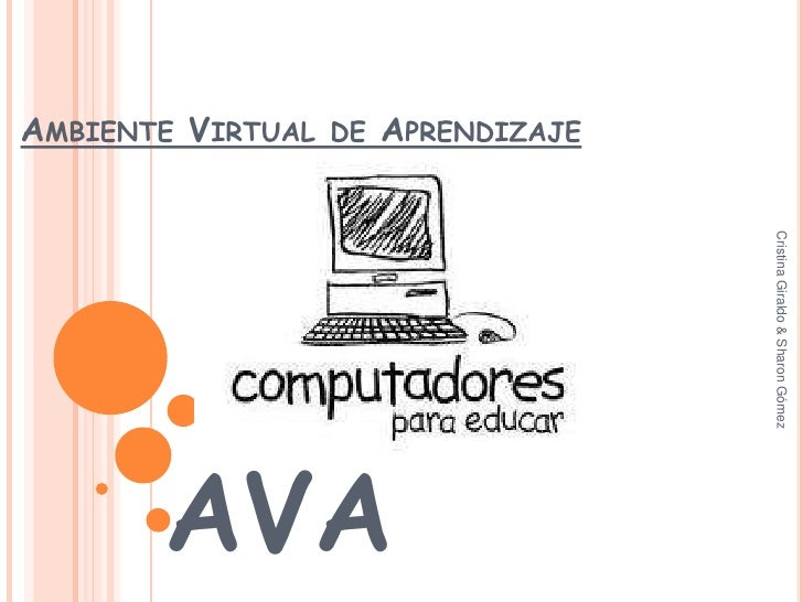 AmbienteVirtual deAprendizaje<br />AVA<br />Cristina Giraldo & Sharon Gómez<br />