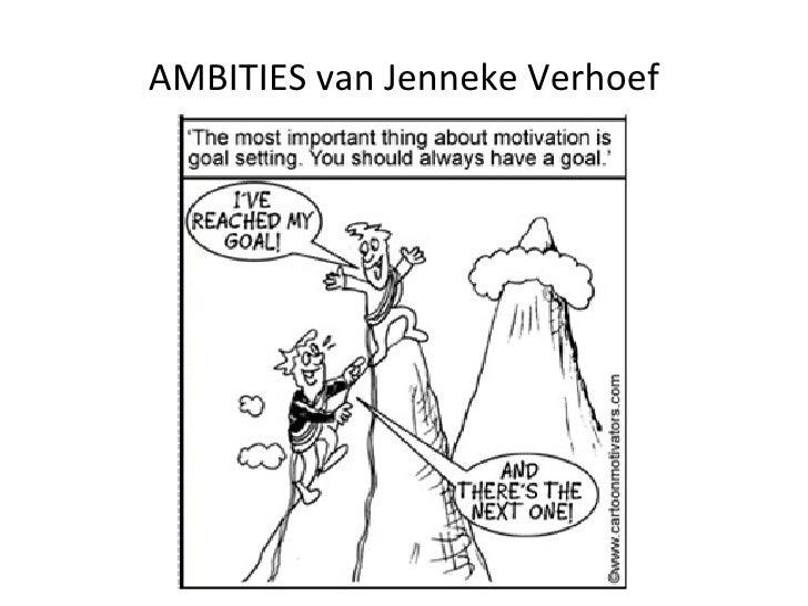 AMBITIES van Jenneke Verhoef