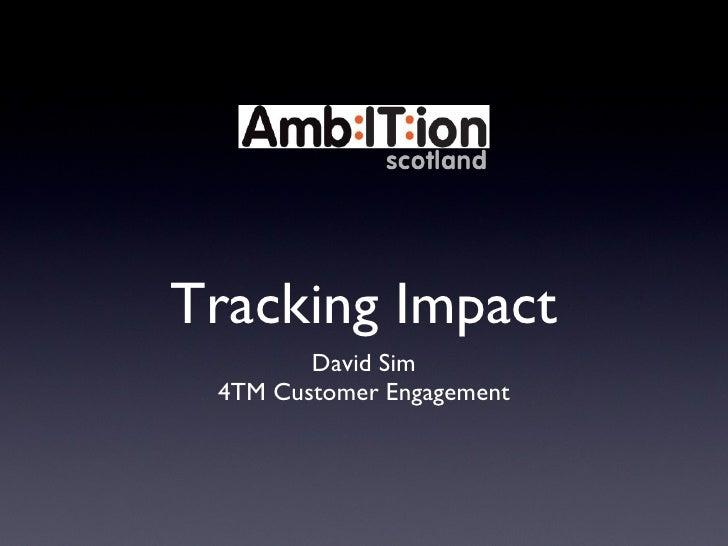 Getting Digital Webinar 3: Tracking Impact