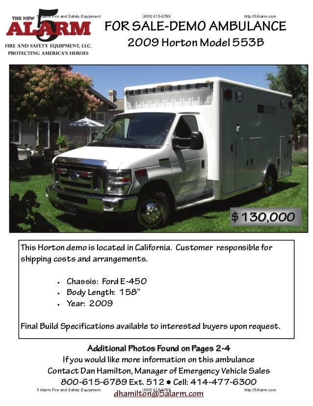 Ambulance Demo 553