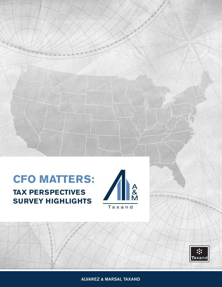 A&M Taxand CFO Survey