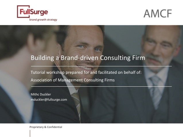 The brand driven consulting firm for Brand consulting firms
