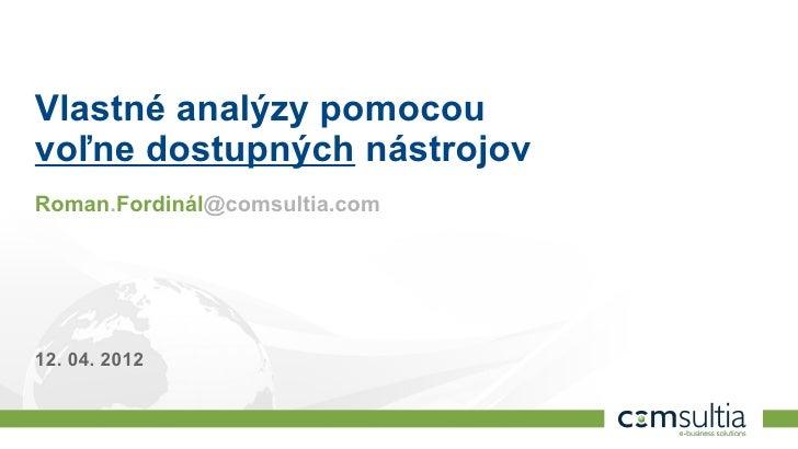 Analytika webových stránok