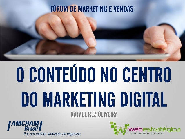    @    Fórum de Marketing e Vendas AMCHAM