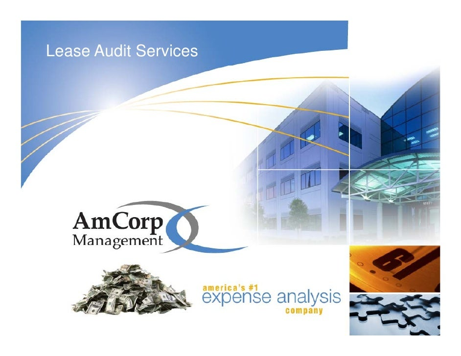 Lease Audit Services