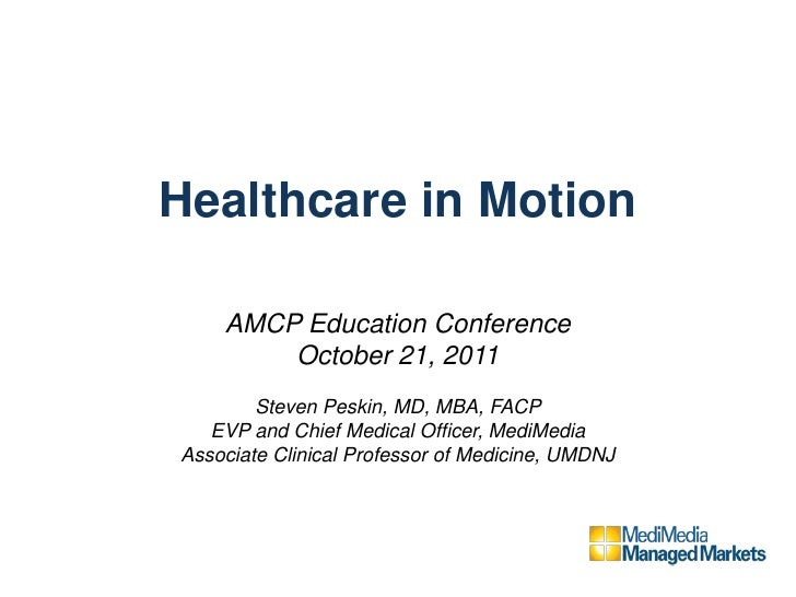 Amcp Mobile Health And Social Media 10 21 11