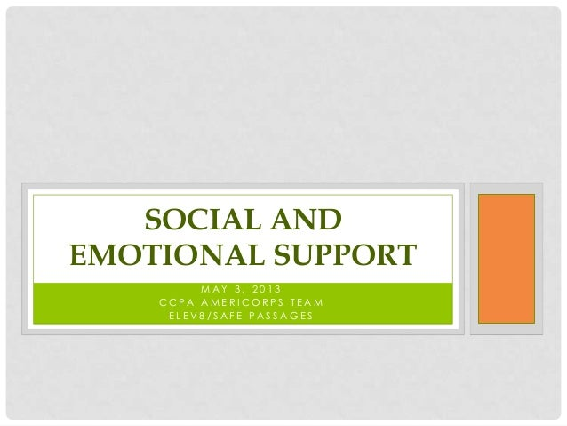 Social & Emotional Support