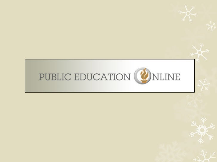 So what is theStatewide Public Education Online Program                 (SPEOP)?          SPEOP was created during the las...