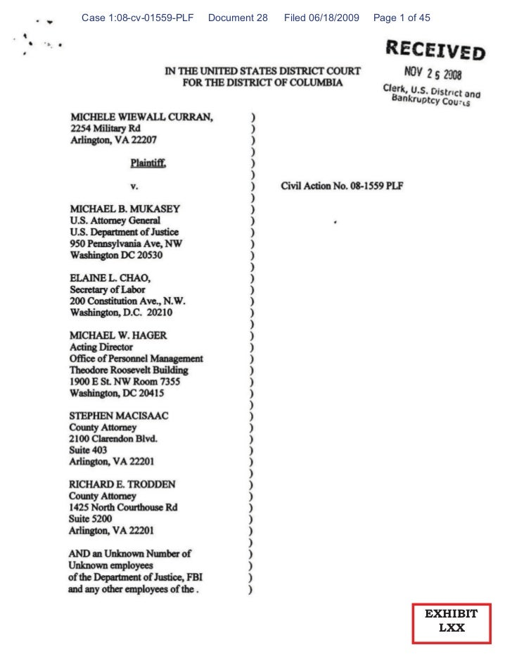 Case 1:08-cv-01559-PLF   Document 28   Filed 06/18/2009   Page 1 of 45                                                    ...