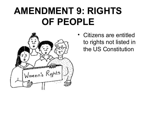 Ninth Amendment to the United States Constitution - Wikipedia