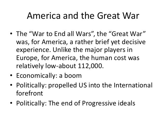 """America and the Great War • The """"War to End all Wars"""", the """"Great War"""" was, for America, a rather brief yet decisive exper..."""