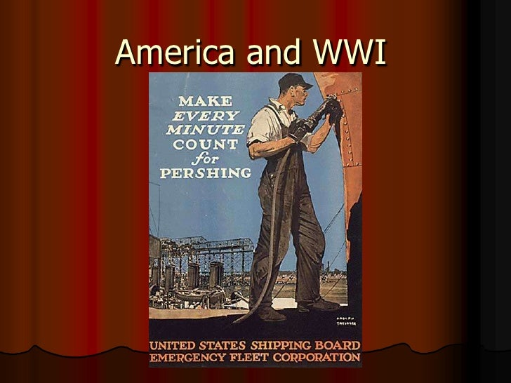 America and WWI<br />