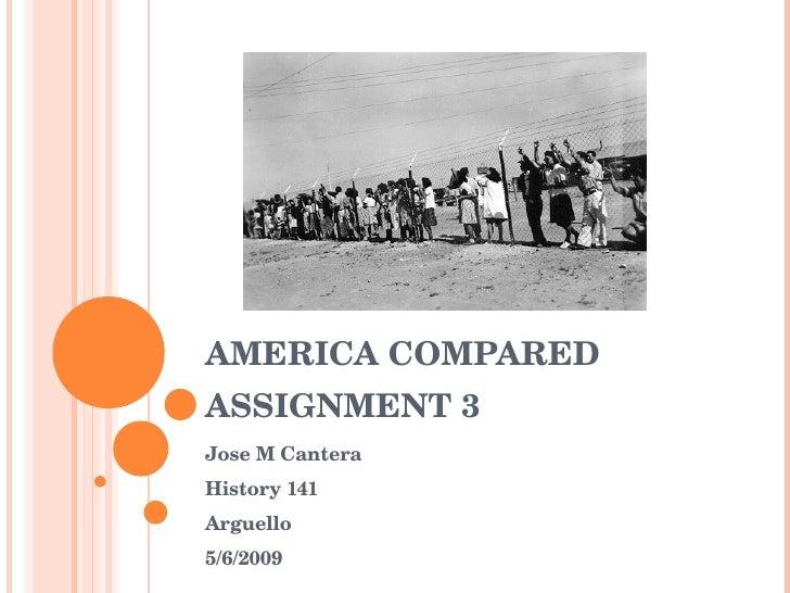 America Compared Race War
