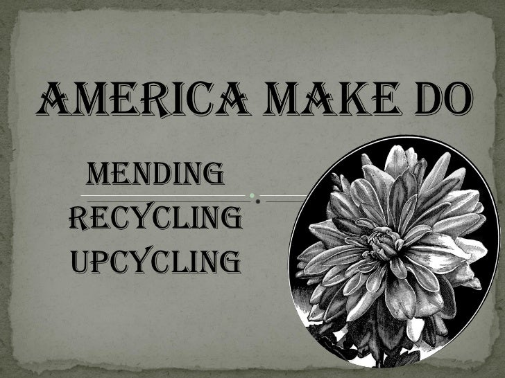 America make do