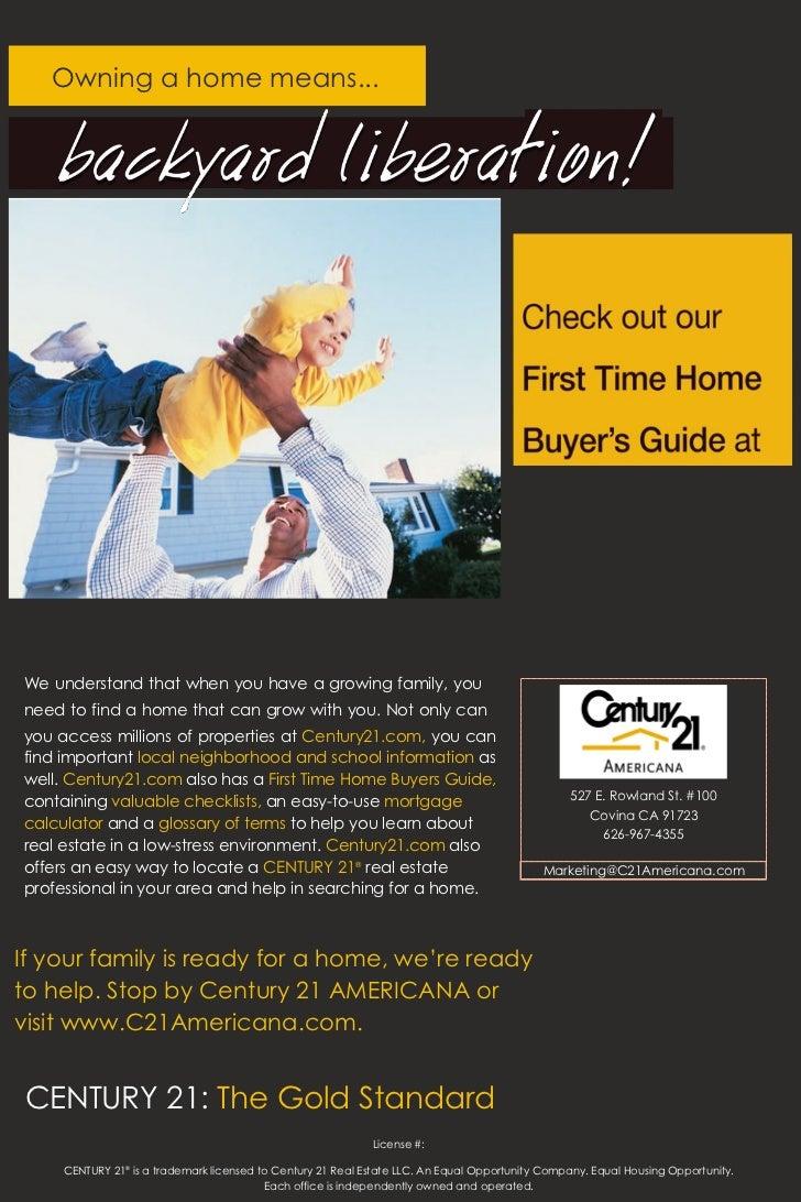 Century 21 Americana on Home Ownership