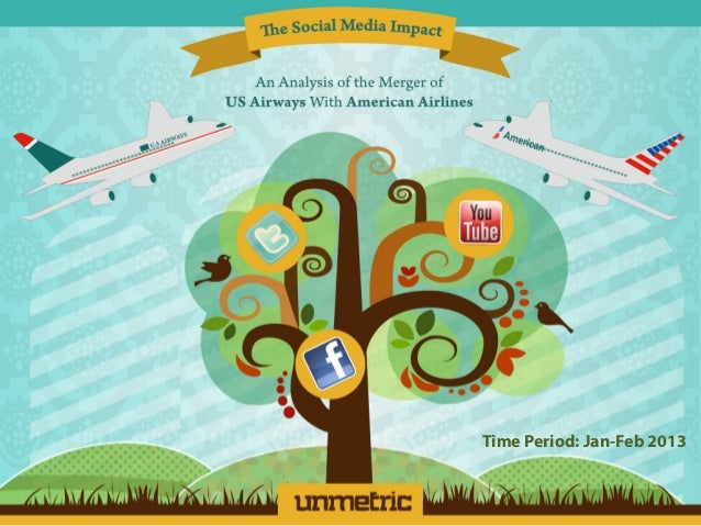 The Social Media Impact of American Airlines - US Airways Merger