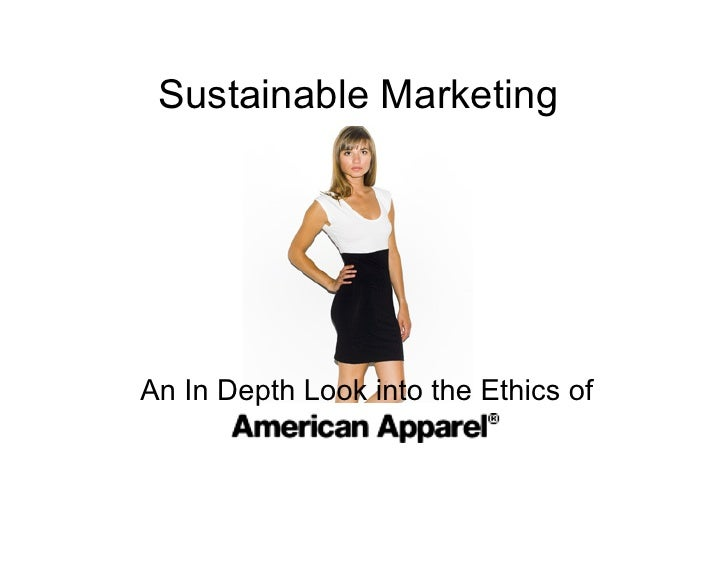 Sustainable Marketing     An In Depth Look into the Ethics of