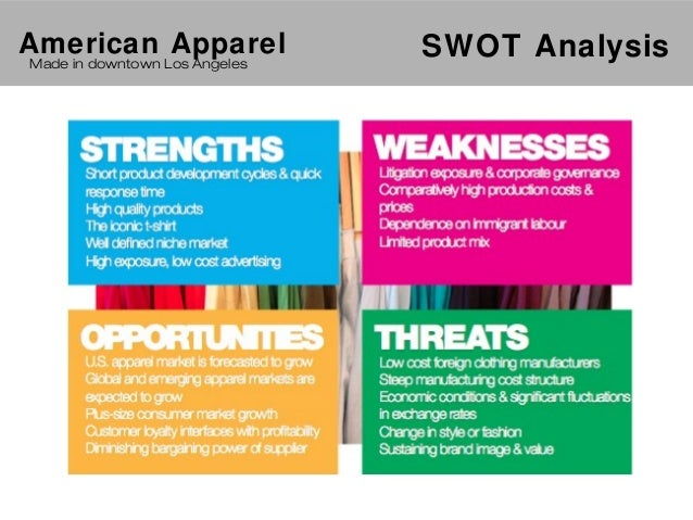 swot analysis of arrow apparels