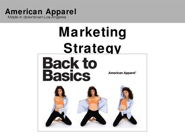 swot for american apparel