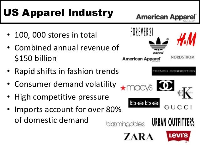 a company analysis of american apparel While the 110 stores were also up for sale, no company, including  as of now,  americal apparel still plans on being a wholesale company, meaning your  dov  charney, the brand's founder, started american apparel out of.