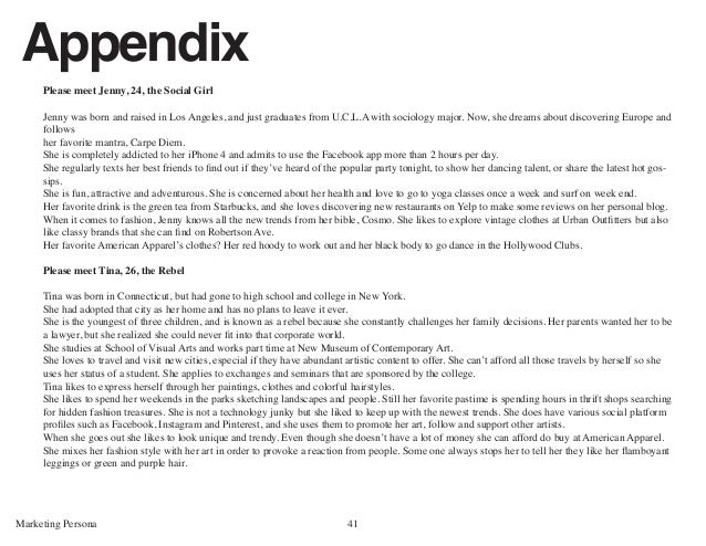 appendix in research paper