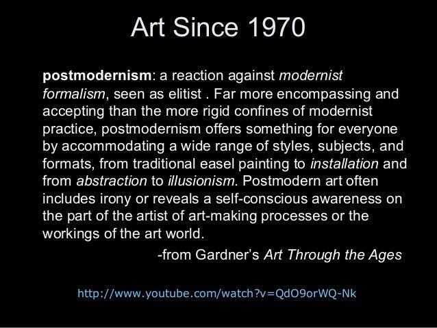 American art, 1970 to present
