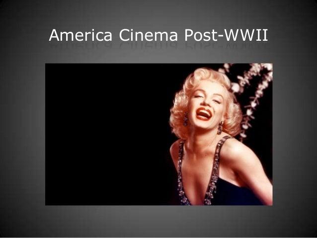 America Cinema Post-WWII