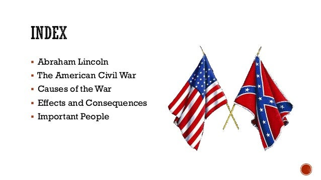 causes of american civil war essay
