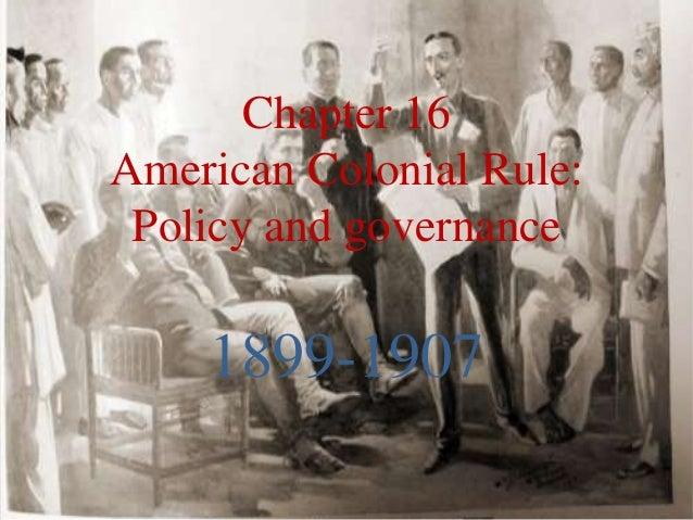 American colonial rule