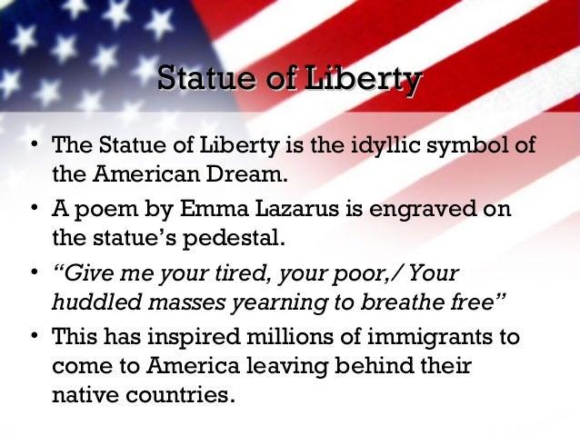 Emma Lazarus american dream