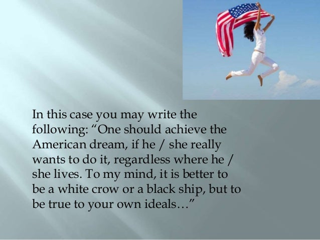 american dream expository essay The great gatsby expository essay mr noonan the american dream of the jazz age after closely reading the great gatsby and analyzing artwork and photography from the.