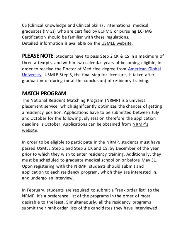 statement certification ecfmg