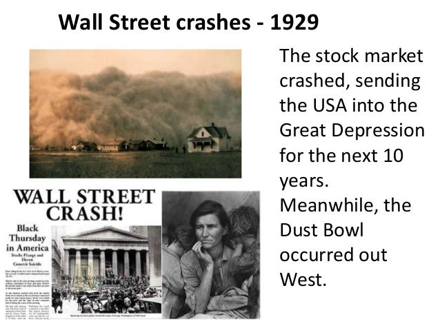 an investigation of the evolution of the stock market crash of november 1929 in the great crash 1929 Wall street crash of 1929 and its aftermath the great depression took a while to get going but by the winter of 1932 it was at in the november 1932 election.