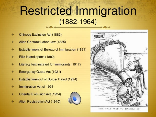 an introduction to the immigration of the chinese people to the united states 2018-6-7 article 7 - immigration  immigration policies tend to respond to crises caused by floods of people to the united states  as had chinese immigration.