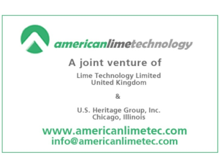 American lime technology nov. 25, 2008