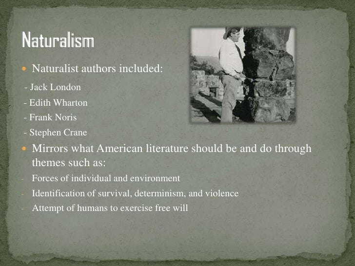 Naturalist writing