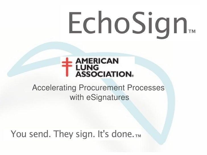 Accelerating Procurement Processes with eSignatures