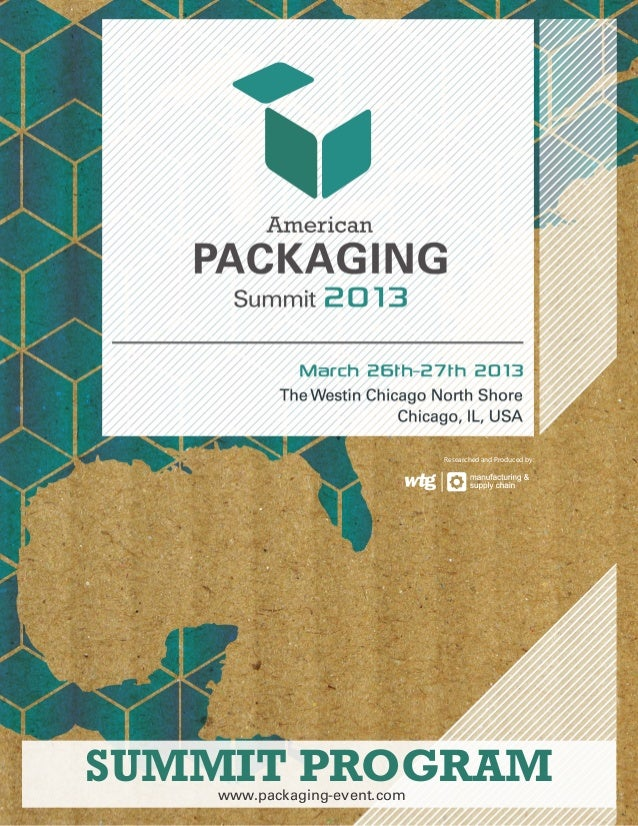 SUMMIT PROGRAMResearched and Produced by:www.packaging-event.com