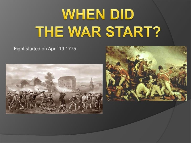 how the war for independence began Been growing by leaps and bounds even prior to the american war of  independence  however, a financial panic swept the united states beginning  in 1819.