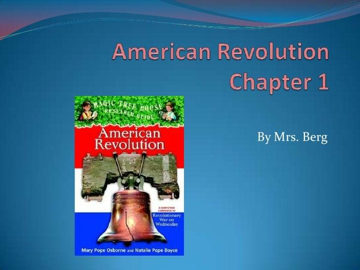 American revolution  ch 1