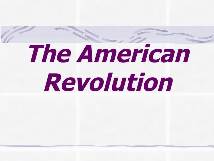 American Revolution selftest 1