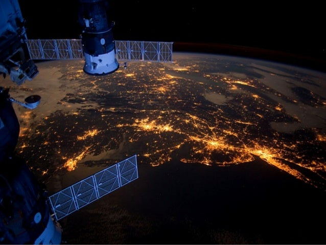 Оне of the Expedition 30 crew members aboard the International Space Station took this nighttime photograph of much of the...