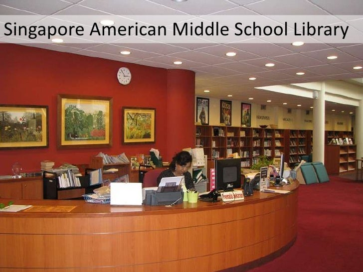 Singapore American Middle School Library