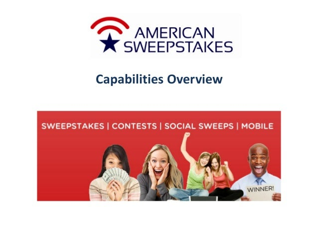 American Sweepstakes and Promotions Company Capabilities and Best Practices