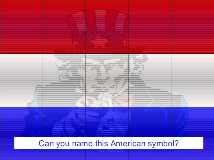 Can you name this American symbol?
