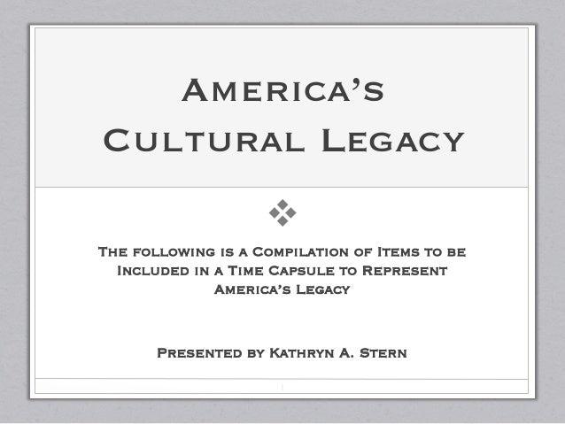America's Legacy