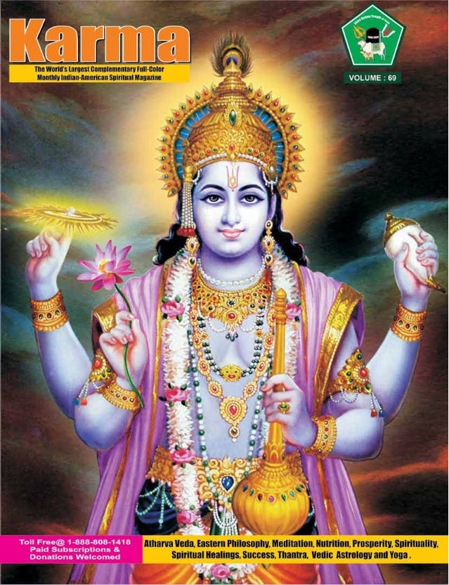Americas only hindu free spiritual magazine published by commander selvam